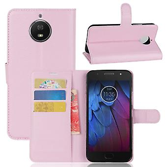 Pocket wallet premium Pink for Motorola Moto G5S plus protection sleeve case cover pouch new