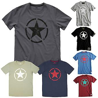 T-shirt star maschile Alpha industries