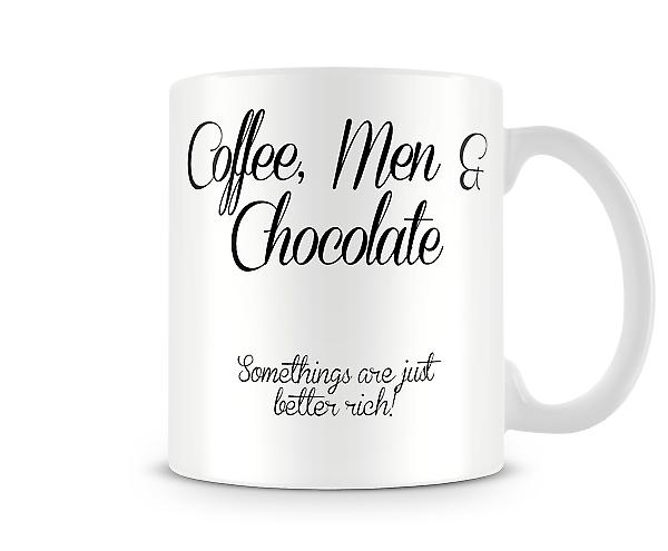 Coffee Men Chocolate Printed Mug