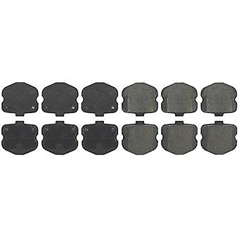 StopTech 308.11850 Street Brake Pad (Front with Shims), 4 Pack
