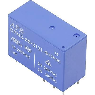 PCB relays 5 Vdc 5 A 2 change-overs AFE BPM2-SS-20
