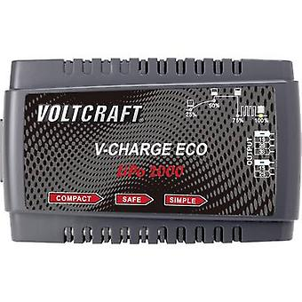 Scale model battery charger 230 V 2 A VOLTCRAFT V-Charge Eco LiPo 2000 LiPolymer