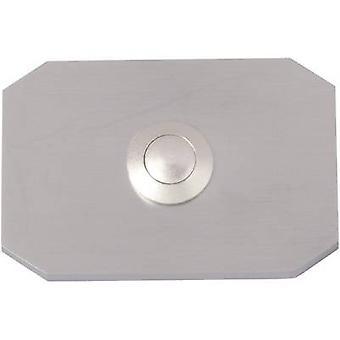Heidemann 70096 Bell button 1x Stainless steel 24 V/1 A