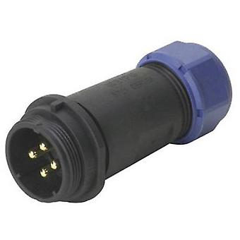 Weipu SP2111 / P 12 II Bullet connector Plug, straight Series (connectors): SP21 Total number of pins: 12 1 pc(s)