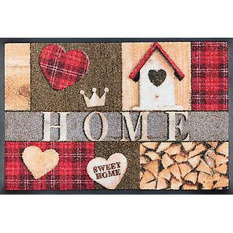 wash + dry mat cottage home washable floor mat