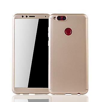 Huawei honor 7 X phone case protective case full cover tank protection glass gold