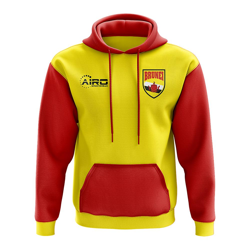 Brunei Concept Country Football Hoody (jaune)