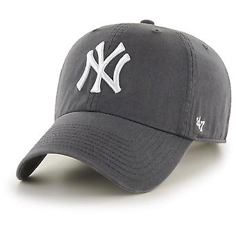 47 fire Adjustable Cap - CLEAN UP New York Yankees graphite