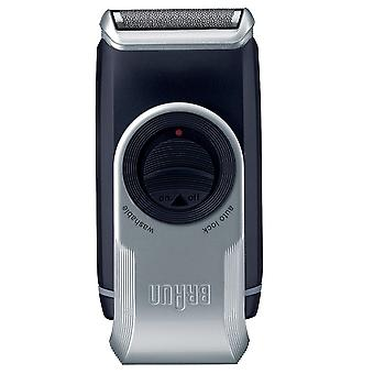 Braun M90 Mobile Battery Operated Men's Foil Shaver with Precision Trimmer
