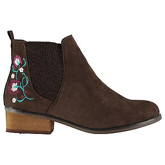 Dolcis Womens Jean Ankle Boots Chelsea