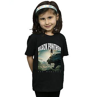 Marvel Girls Black Panther For Wakanda T-Shirt