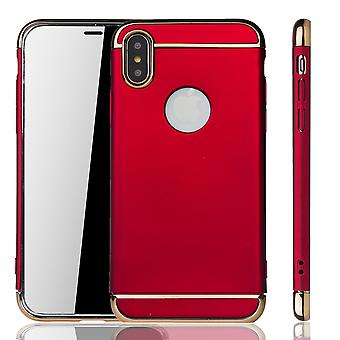 Apple iPhone XS mobiele cover case bumper Hard Cover rood