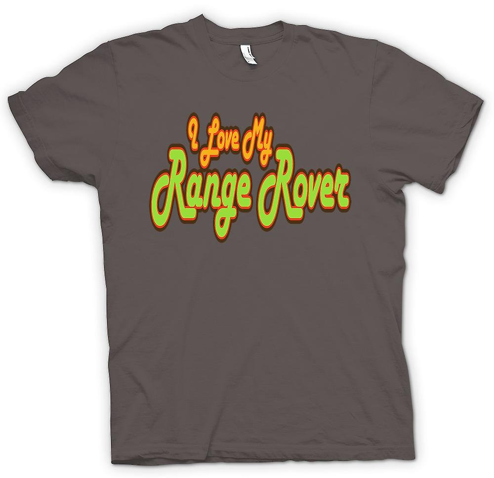 Mens T-shirt - I Love My Range Rover - Car Enthusiast