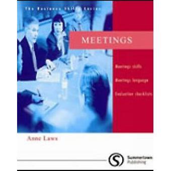 Meetings by Anne Laws - 9781902741154 Book