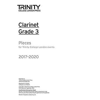 Clarinet Exam Pieces Grade 3 2017-2020 (Part Only)
