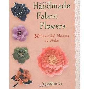 Handgemaakte stof bloemen
