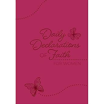 Déclarations quotidiennes de la foi pour les femmes