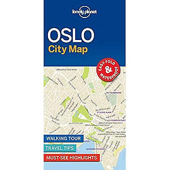 Lonely Planet Oslo City Map (carte)
