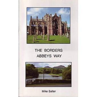 De manier van de abdijen grenzen