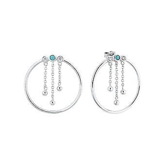 s.Oliver jewel ladies earrings silver cubic zirconia 2024294