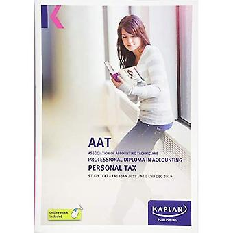 PERSONAL TAX (FA18) - STUDY TEXT