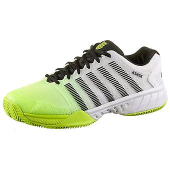 K-Swiss style Cour express HB wht/neonylw/blk