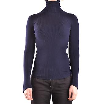 Pinko Blue Wool Sweater