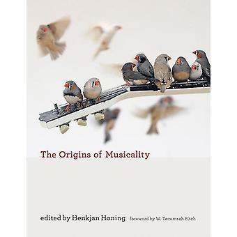 The Origins of Musicality by Henkjan Honing - 9780262037457 Book