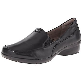 Naturalizer Womens Channing Leather Almond Toe Loafers