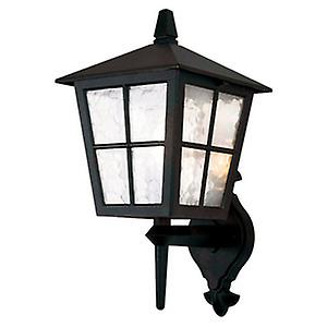 Elstead BL46M BLACK Canterbury Traditional British Style Exterior Up Wall Lantern