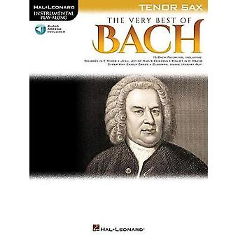 The Very Best of Bach - Instrumental Play-Along For Tenor Sax by The V