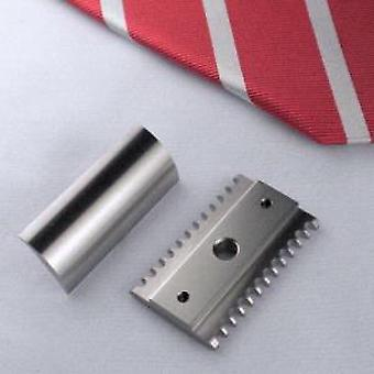 Above The Tie H2 Stainless Steel Open Comb Safety Razor Head