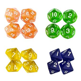 16-pack tärningar till Dungeons and Dragons