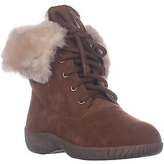 Style & Co. Womens Angiee cuir rond Toe cheville bottes de temps froid