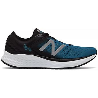 Nuevo equilibrio 1080v9 fresca espuma mens D ancho carretera zapatos de Running profundo Ozone Blue