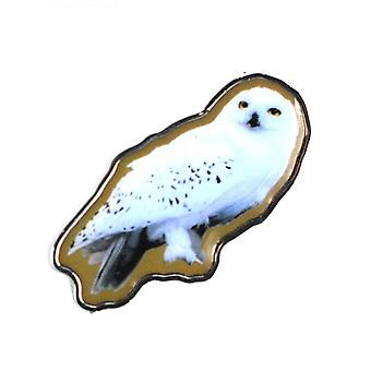Harry Potter Badge Hedwig Owl Movie Hogwarts new Official Enamel