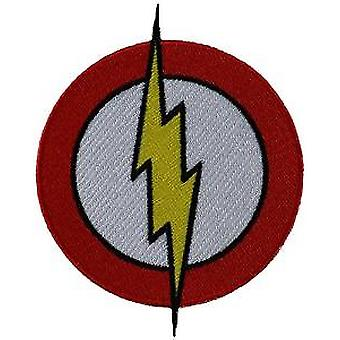 Patch - DC Comic - Flash Logo Iron On Licensed Gifts Toys p-dc-0029