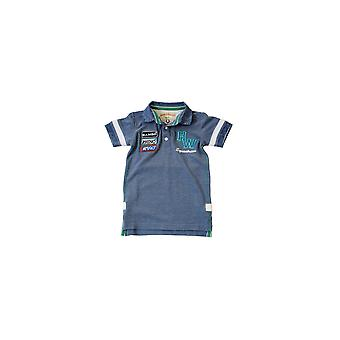 Horseware Boys Pique Polo Shirt - Parisian Blue
