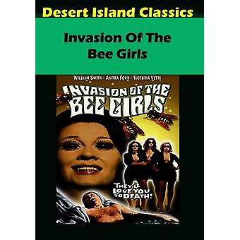 Invasion of the Bee Girls [DVD] USA import