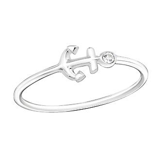 Anker - jeweled 925 Sterling Silber Ringe - W18955X