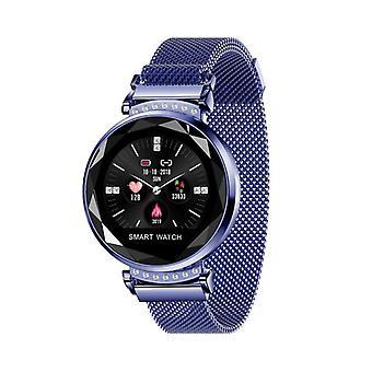 H2 activiteit armband met strass-blauw