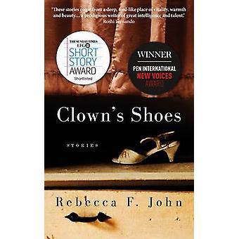 Clowns Shoes by Rebecca F John