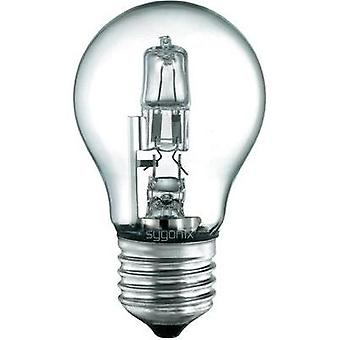Eco halogen 94 mm Sygonix 230 V E27 28 W Warm white EEC: C Pear shape dimmable 1 pc(s)