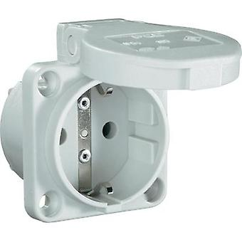 Add-on socket IP54 Grey PCE 601.45