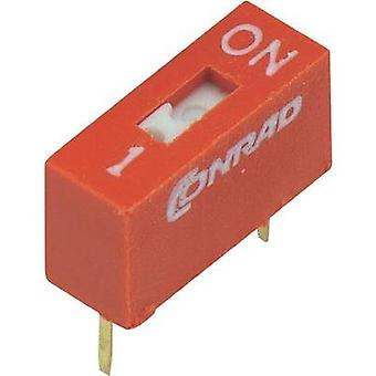 Conrad Components 704809 DIP Switch