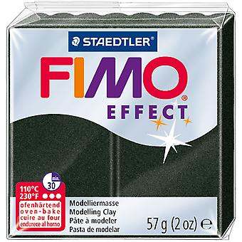 Fimo Effect Polymer Clay 2oz-Black Pearl EF802-907