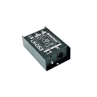 Passive DI box 1-channel Omnitronic LH-053