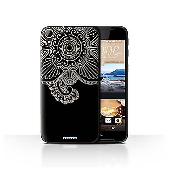 STUFF4 Case/Cover for HTC Desire 830/Flower/Henna Tattoo
