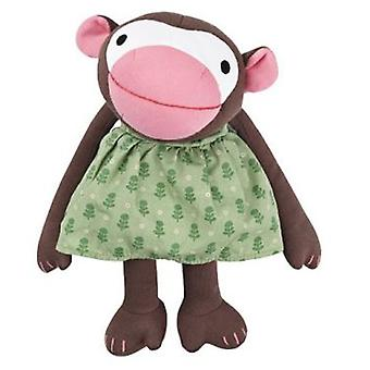 Franck & Fischer Frida monkey, green dress (Toys , Preschool , Dolls And Soft Toys)