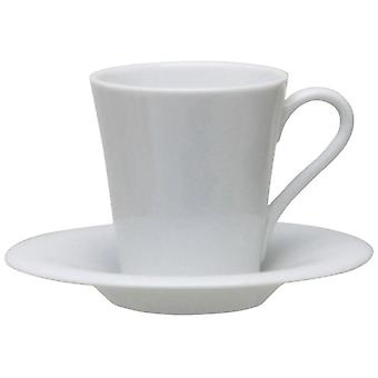 Avet Coffee Tea With 260 Ml Plate Set of 6